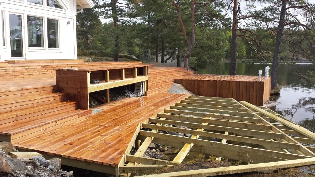 altan med tak bygglov